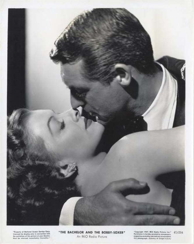 "Myrna Loy and Cary Grant in ""The Bachelor And The Bobby-Soxer (1947)"