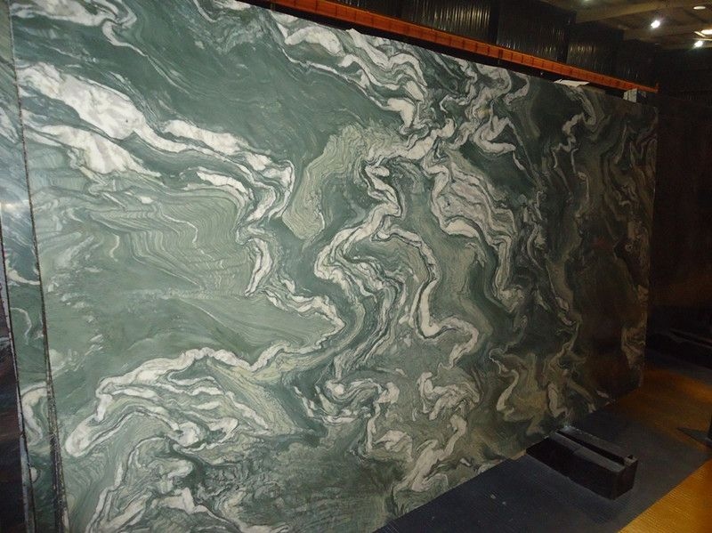 Landscape Green Marble Slabs China | Landscape Green Marble Tiles China | Global Stone