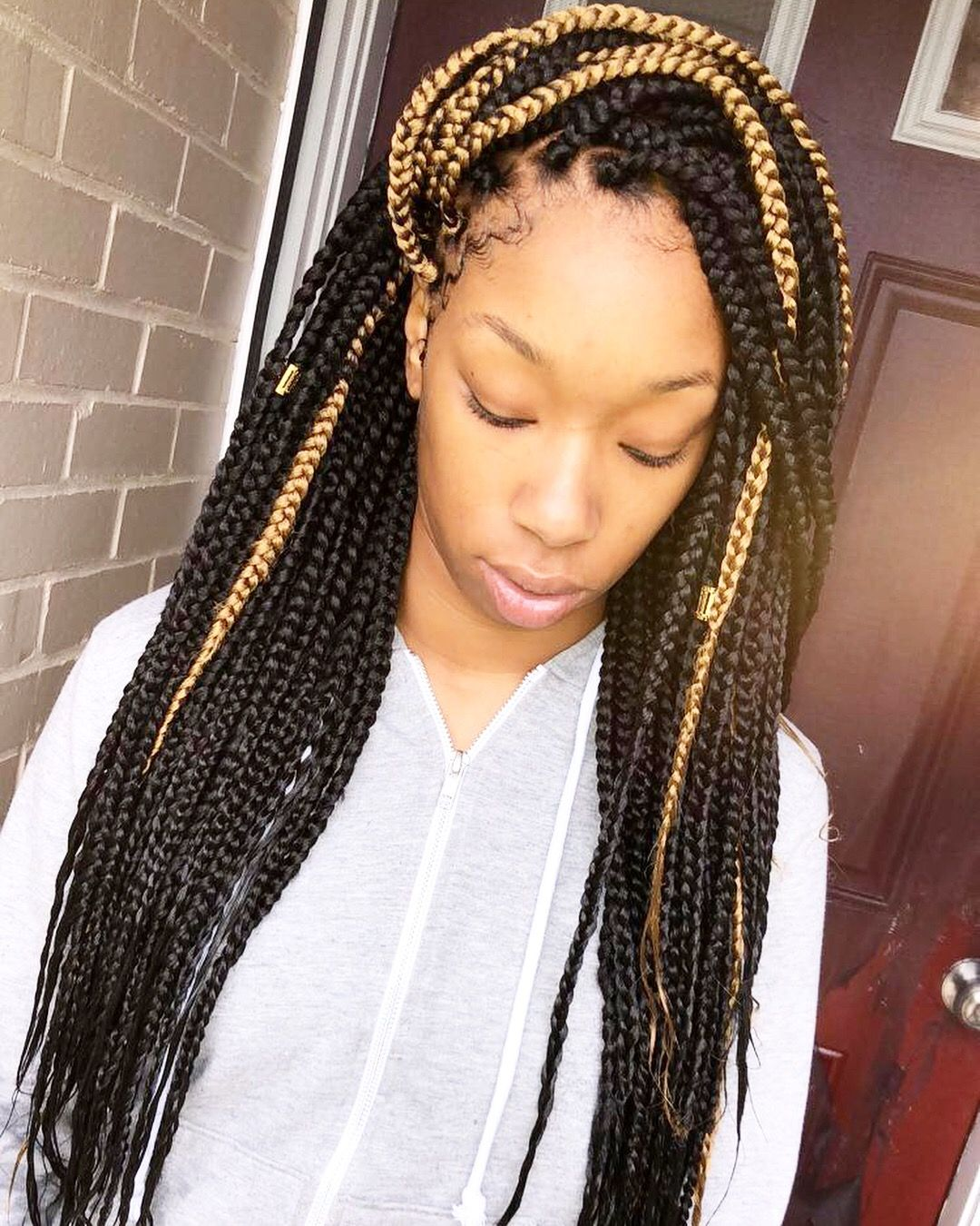 Pin by petal on hairbypetal in pinterest box braids big
