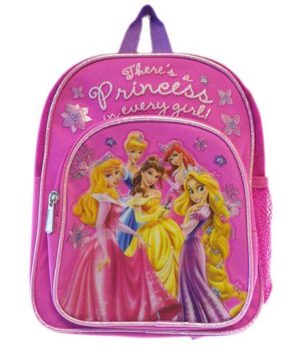 Disney Princess Small BackPack – Princesses Small « Clothing Impulse ... 3c456c00677bb