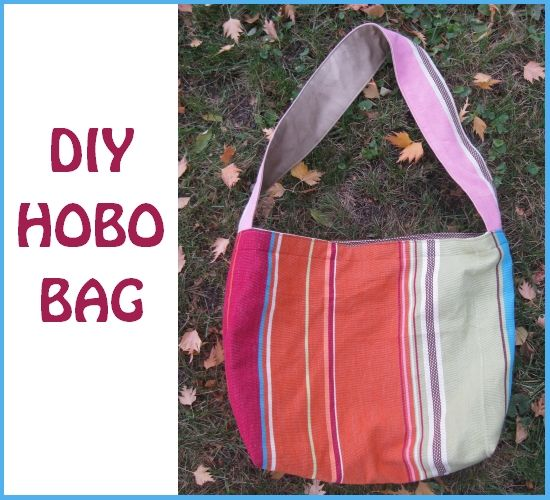 DIY Hobo Bag - Naptime Crafters | Hobo bags, Bags and Nap times