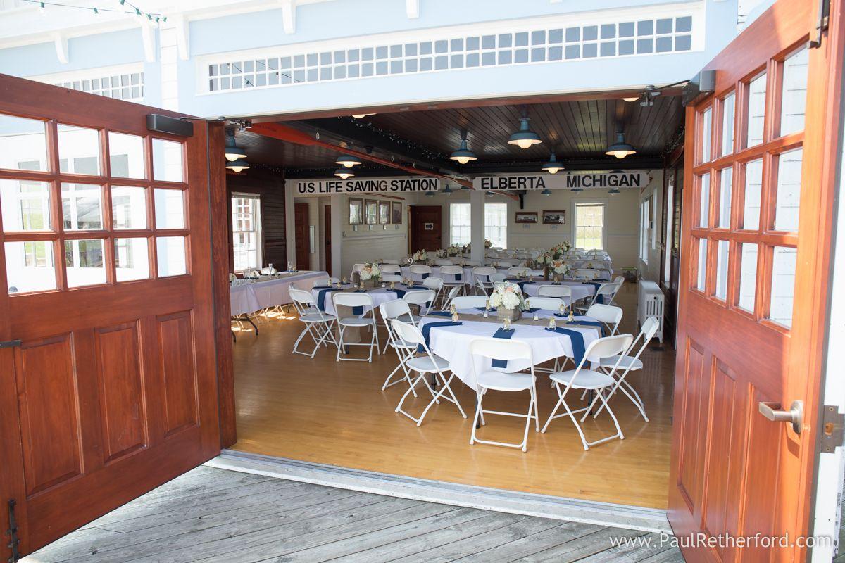 Harbor Lights Resort beach Lake Michigan Wedding Elberta
