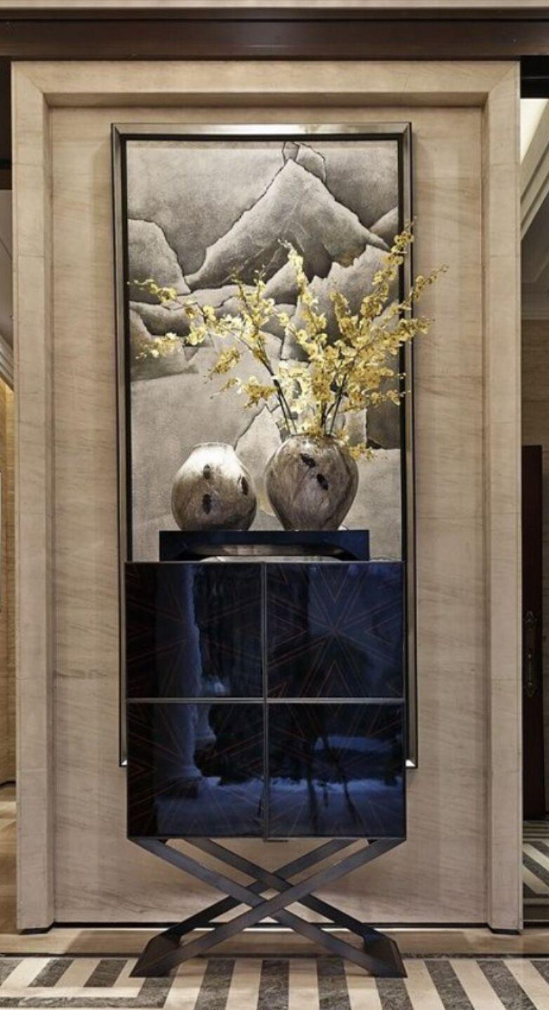 Foyer Art Zone : Powder room foyer entry in pinterest
