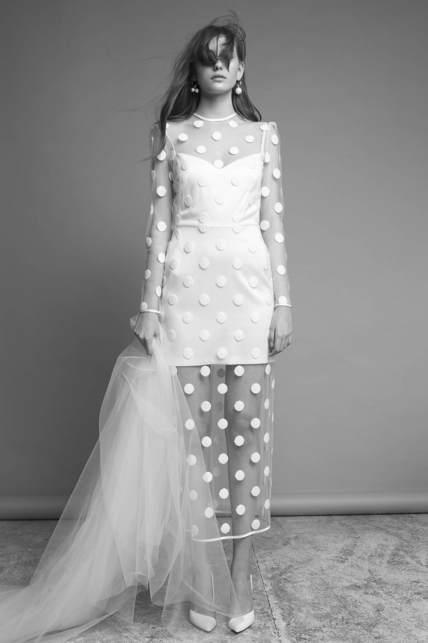 30 Gorgeous Wedding Dresses For The Non Traditional Bride Unusual Wedding Dresses Polka Dot Wedding Dress Alternative Wedding Dresses