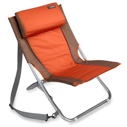 Awesome REI Camp Chair: Super Comfy.