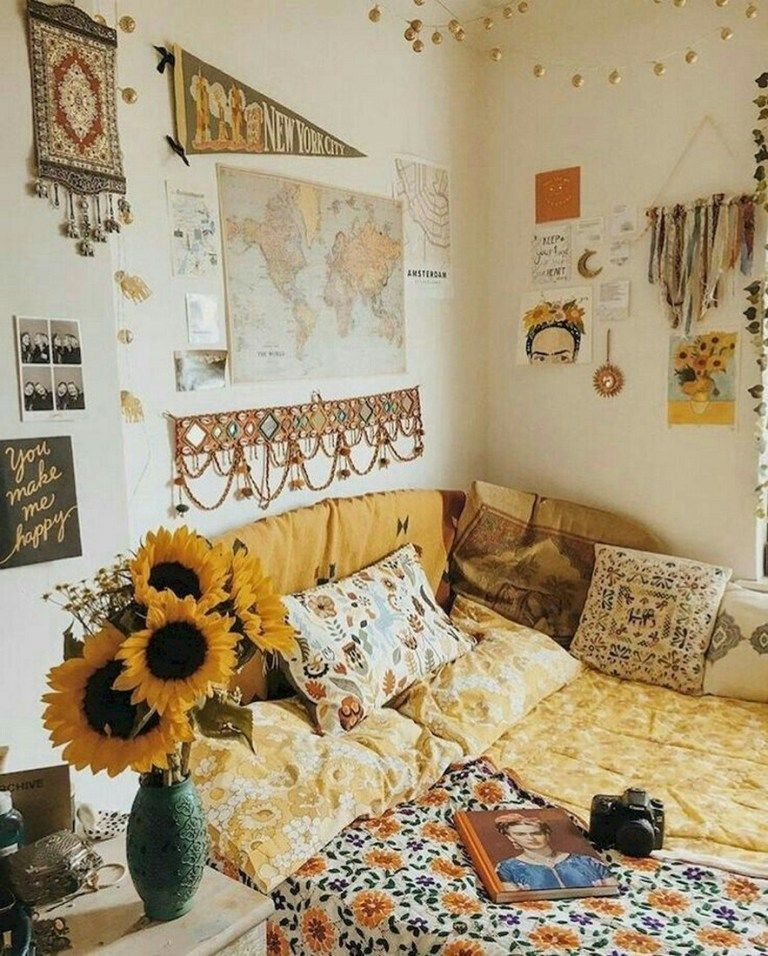 ✔70 cute dorm rooms we're obsessing over 6 #cutedormrooms