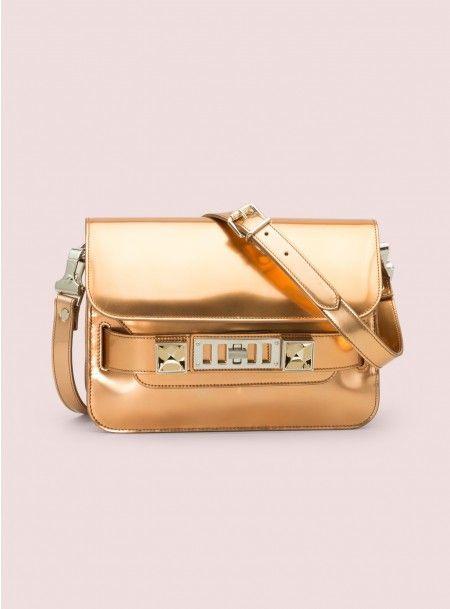 fae8f9da211f Proenza Schouler PS11 Mirror Shoulder Bag in Magnolia (Rose Gold)-- 2013  limited edition  (