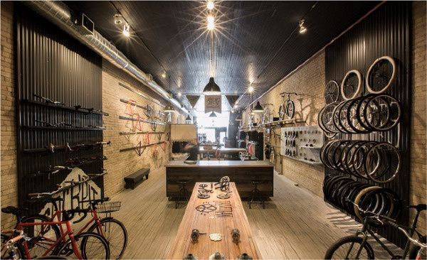 Handsome Cycles  Retail Store in Minneapolis by Marina Groh