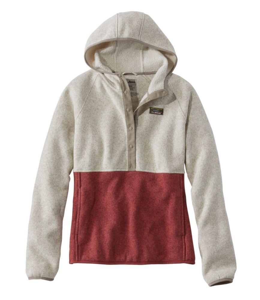 Missesu llbean sweater fleece pullover hoodie in products