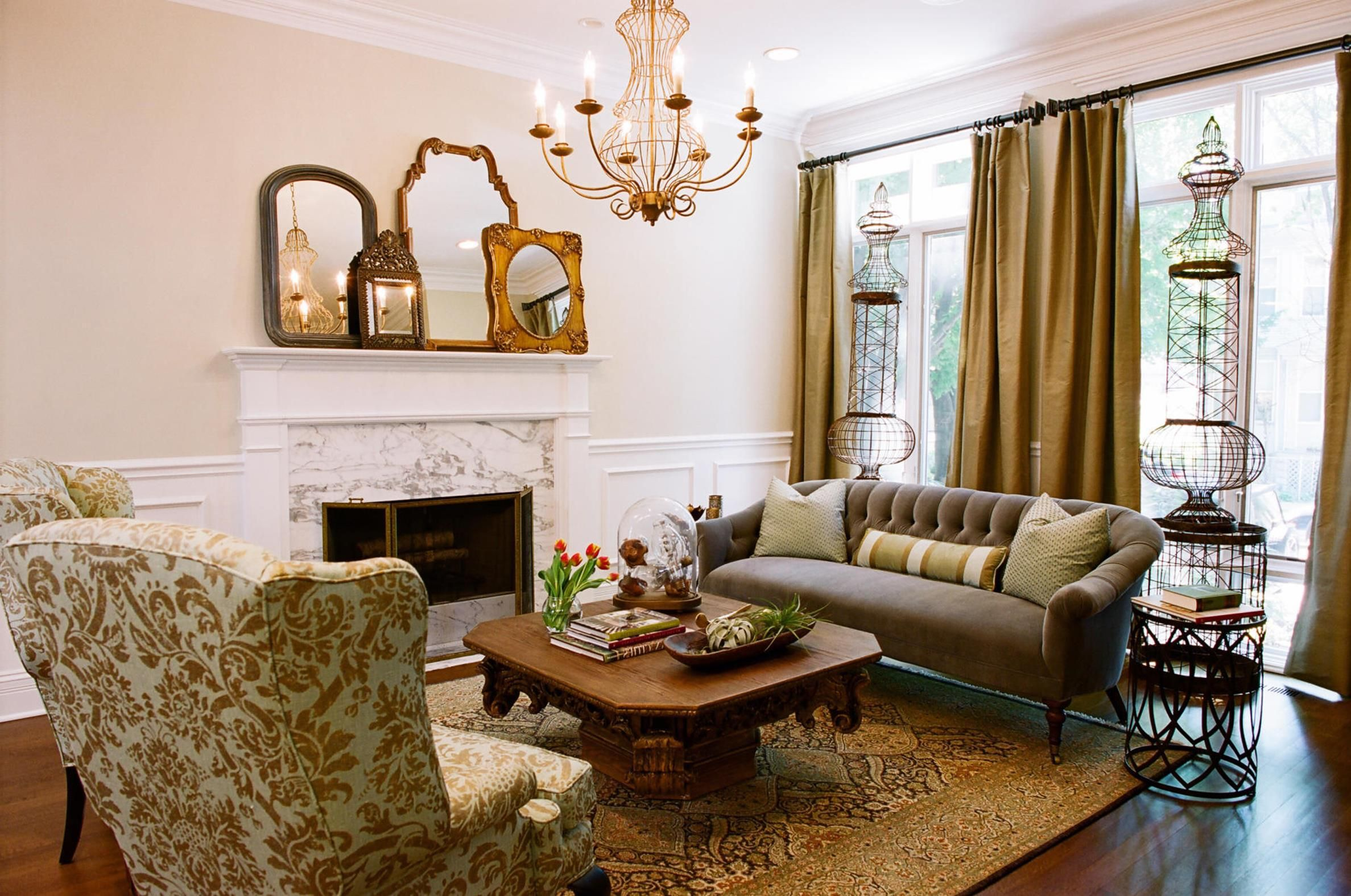 50 cozy stylish rooms country living ideas  country style
