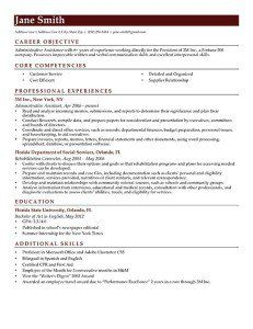 Brick Red Contemporary Resume Template Free Download