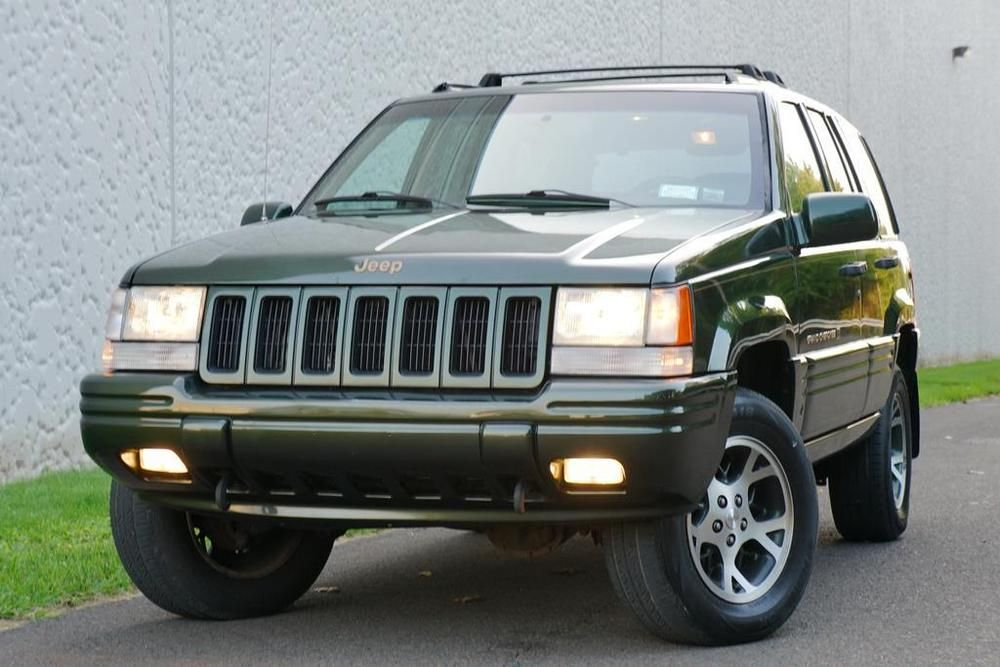 eBay Grand Cherokee Limited 1996 Jeep Grand Cherokee