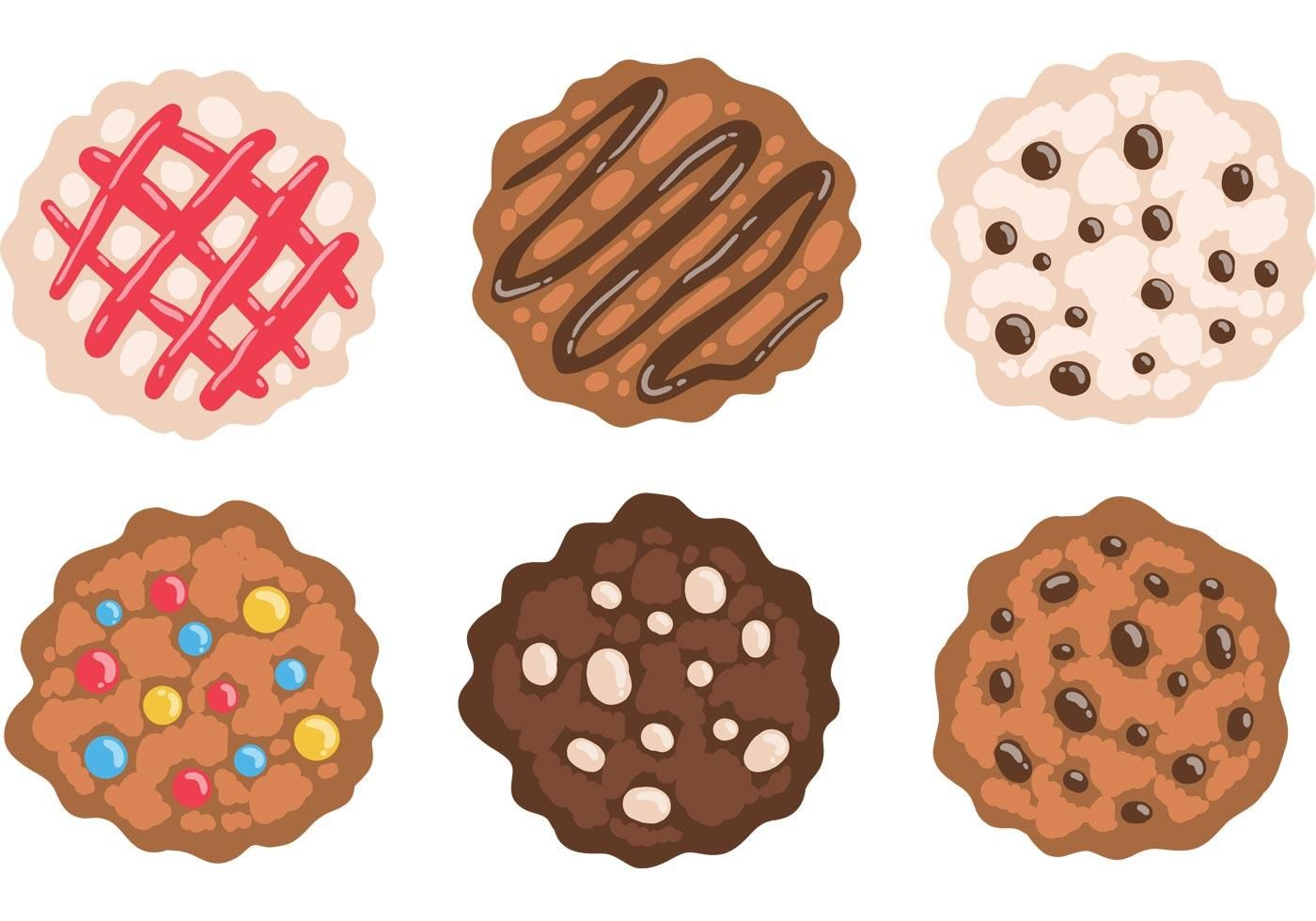 Free Chocolate Chip Cookies Vector Chocolate Chip Cookies Cookie Clipart Cookie Vector