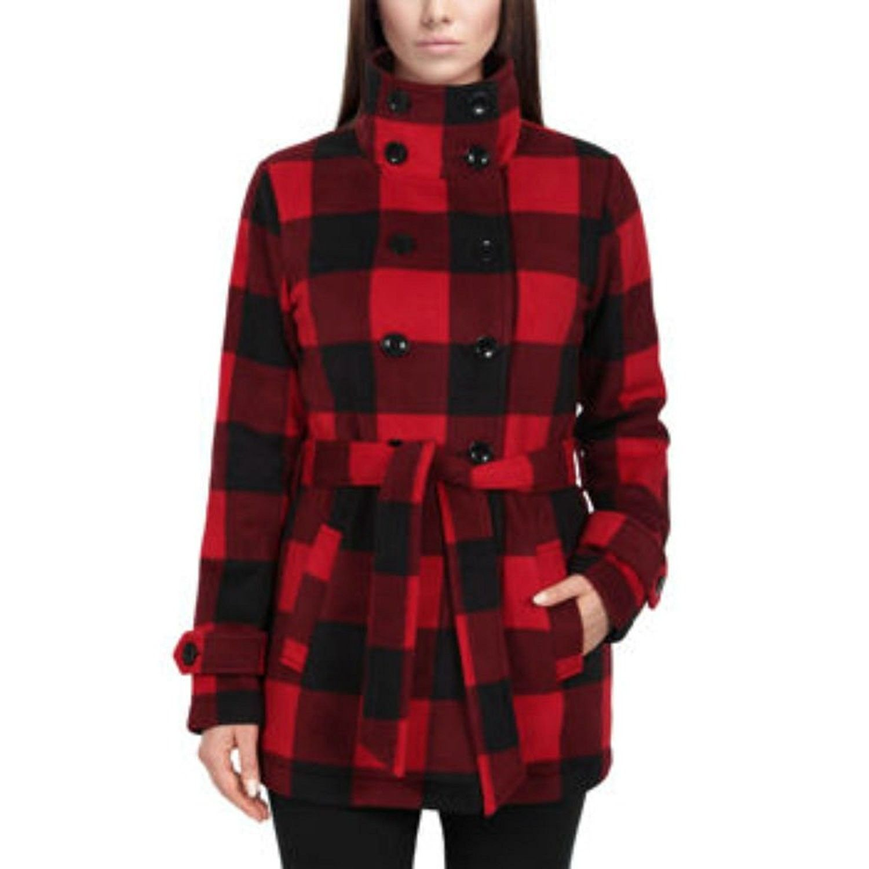 Ladies Fleece Jacket Red Cv12mwyvru5 Red Jacket Women Clothes Sale Casual Coats For Women [ 1500 x 1500 Pixel ]