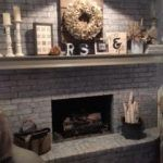 Talent Is Optional Fireplace Diy House Projects White Wash
