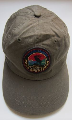 4bd2b0f3488 Vintage-Ralph-Lauren-Polo-Sportsman-Reindeer-Patch-Hat
