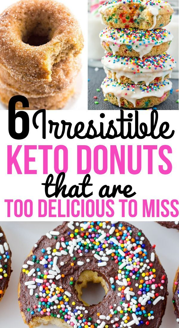 Best Keto Donuts That Will Have You Going Back For Seconds #süßesbacken