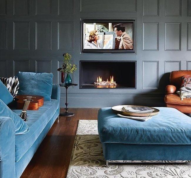 Sof de terciopelo azul casa catch pinterest sof de terciopelo azul sof de terciopelo y - Sofa terciopelo azul ...