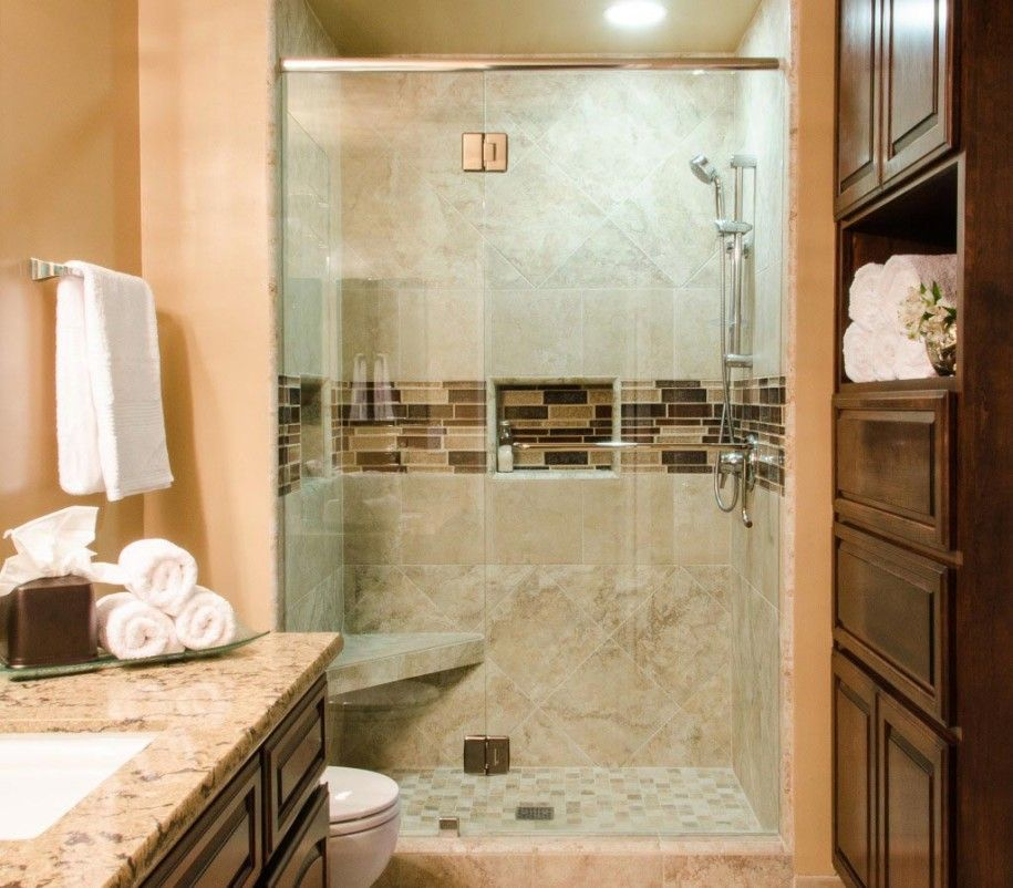 Guest Bathroom Shower Ideas beautiful-bathroom-ideas-for-guest-with-shower-stall-glass-shower