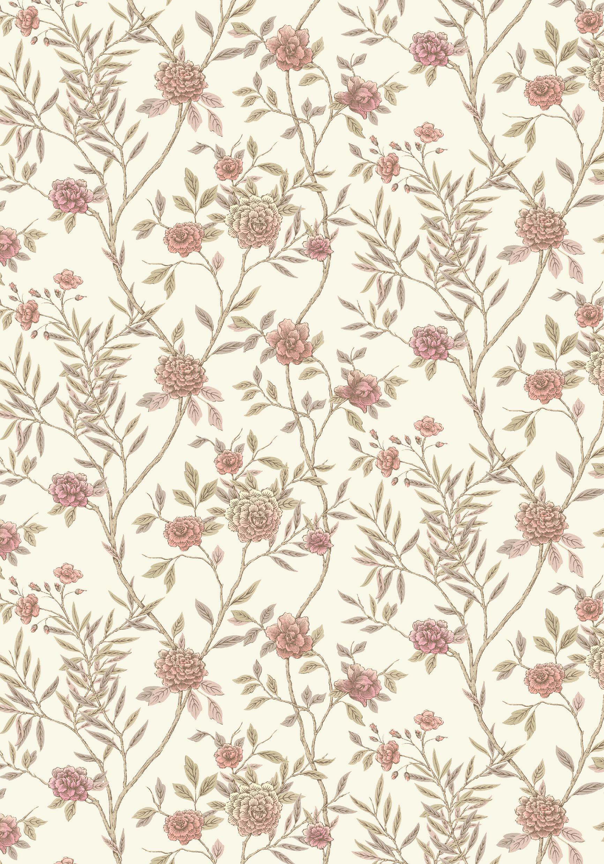vintage floral wallpaper Google Search Vintage floral