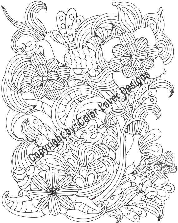 Flower Coloring Pages Printable: Beautiful of flowers to coloring ...