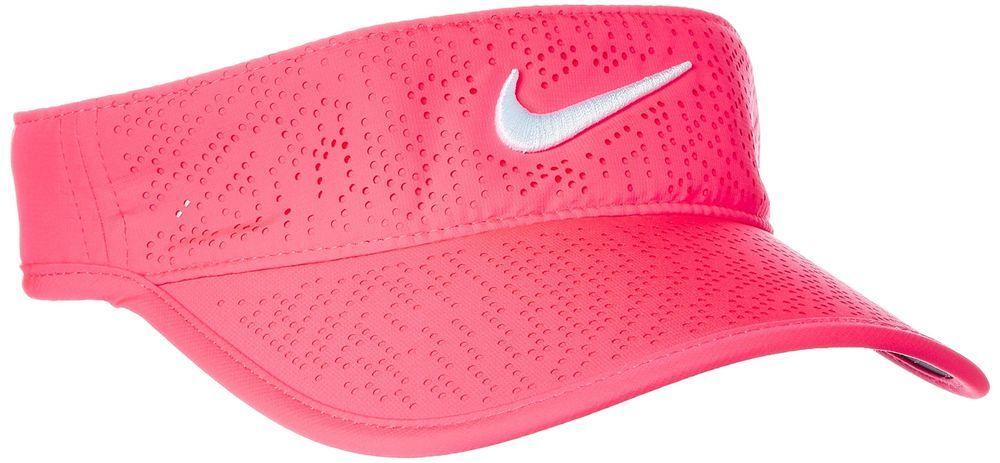 Nike tech golf visor 2017 ladies racer pinkwhite one size
