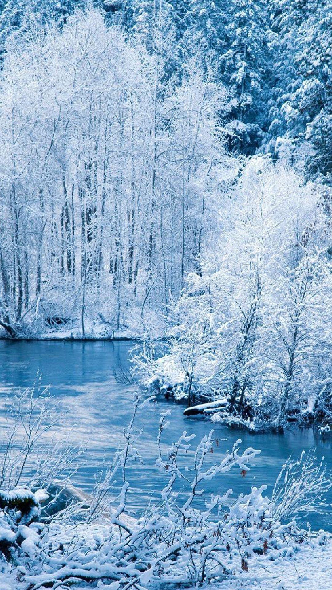 Samsung Galaxy S5 Wallpapers Winter Wallpaper Winter Scenery Winter Landscape