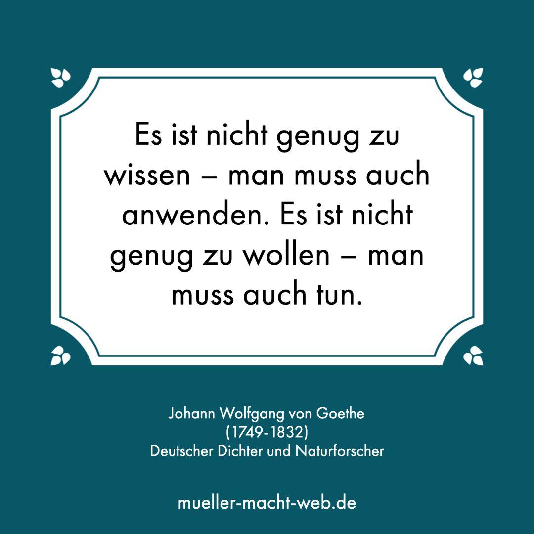 Wordpress Webseiten Webdesign Und Webkonzeptionen Von Goethe Freitag Zitate Johann Wolfgang Von Goethe