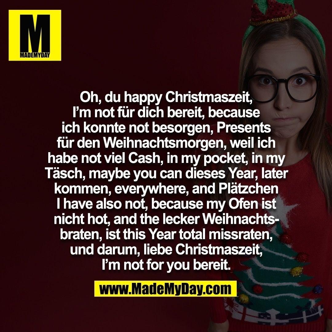 Beste Weihnachtsgedichte.Pin Von Charlie Auf Funny Weihnachtsgedicht Lustig