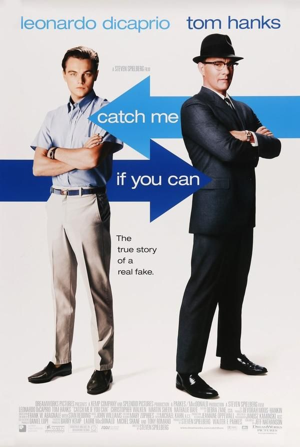 Catch Me If You Can 2002 Peliculas Divertidas Posters Peliculas Atrapame Si Puedes