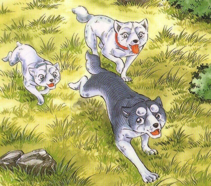 Ginga Densetsu Weed Opening: Kotetsu, Weed, And Koyuki