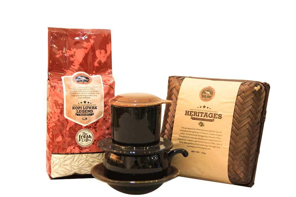 Combo 1: Organic Lover Vietnamese coffee for sale | Kopi ...