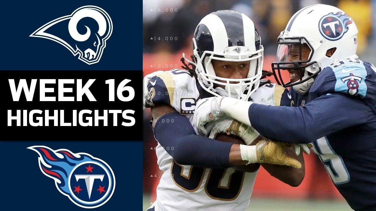 Game 16 2017 LA Rams vs Titans Away Game Highlights