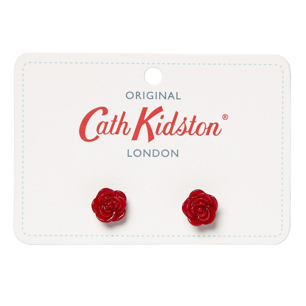 Cath Kidston Resin Rose Earrings