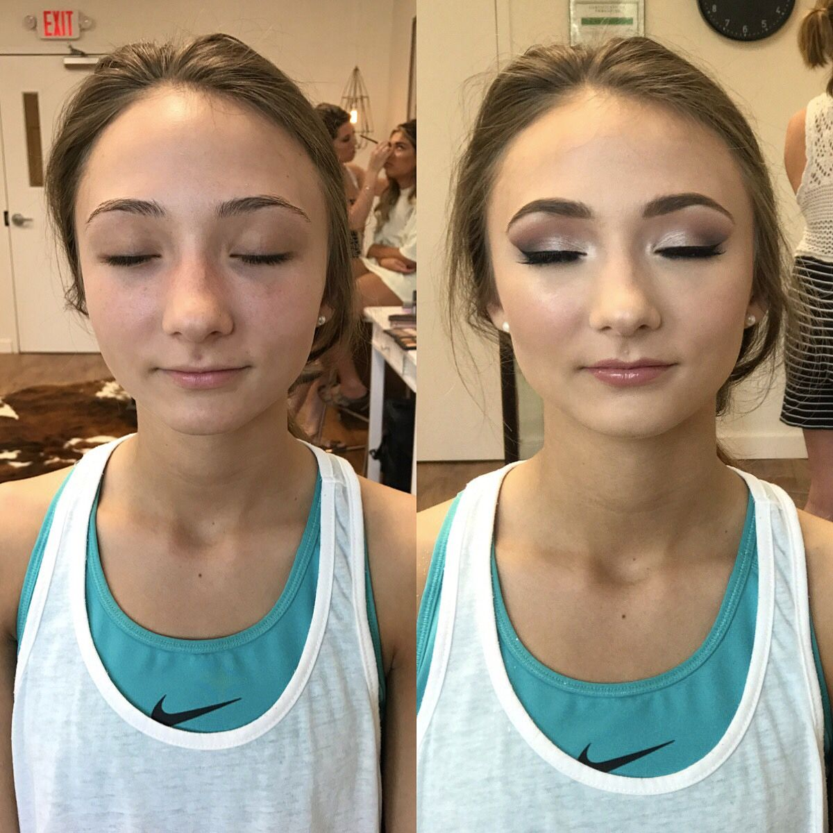 Makeup Airbrush kit before and after forecast dress for autumn in 2019