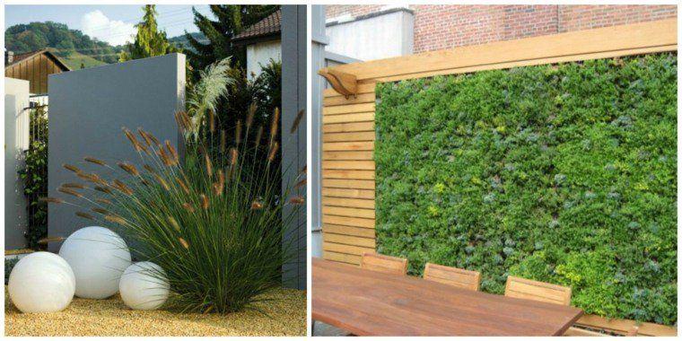 Clôtures de jardin en 59 idées captivantes   Brise vue, Brise et ...