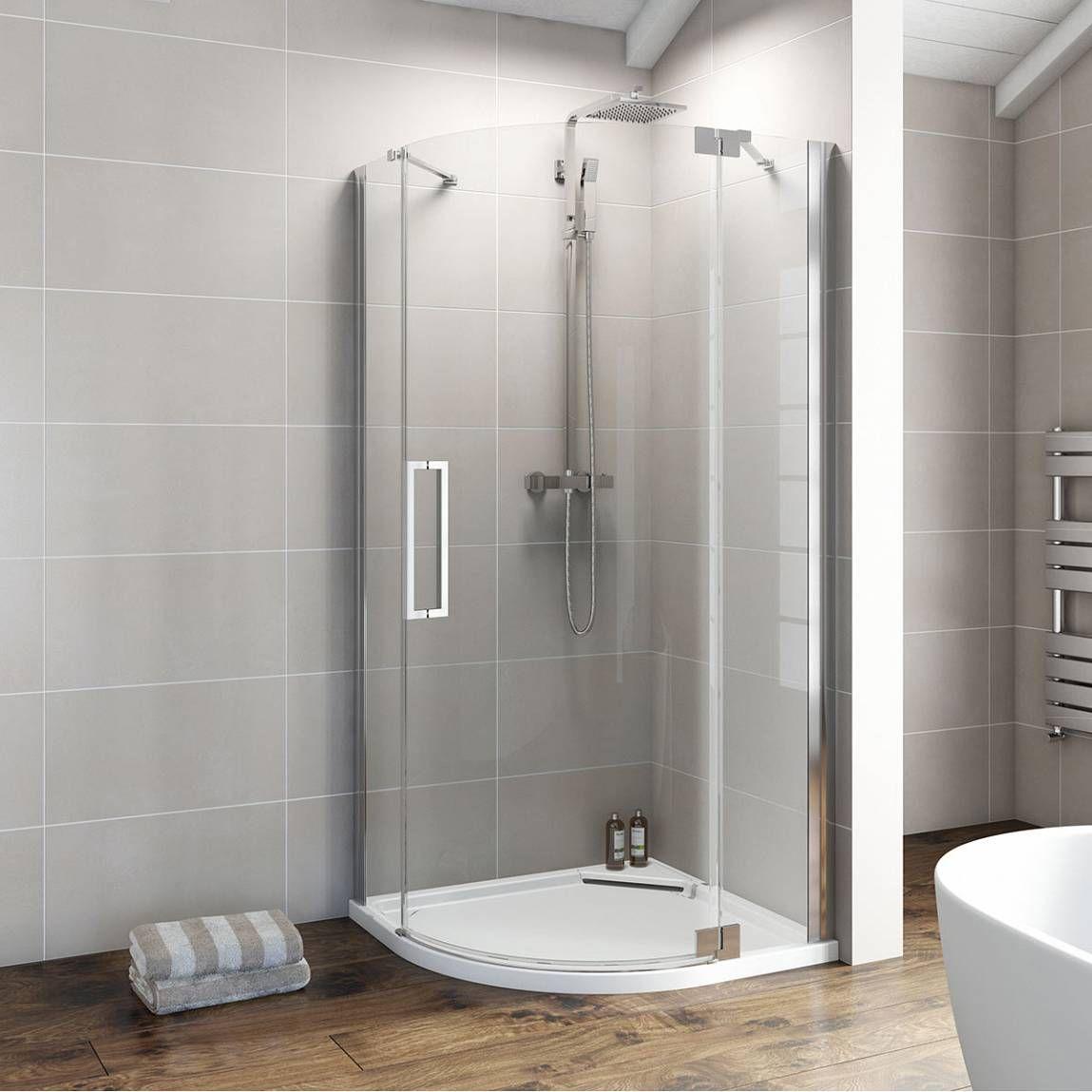 Victoria Plumb Showers >> V8 Frameless Quadrant Hinged Enclosure 800 Rh Victoria Plumb