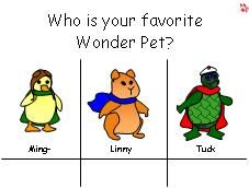 Favorite Character Chart This Wonder Pets Favorite Character School Themes