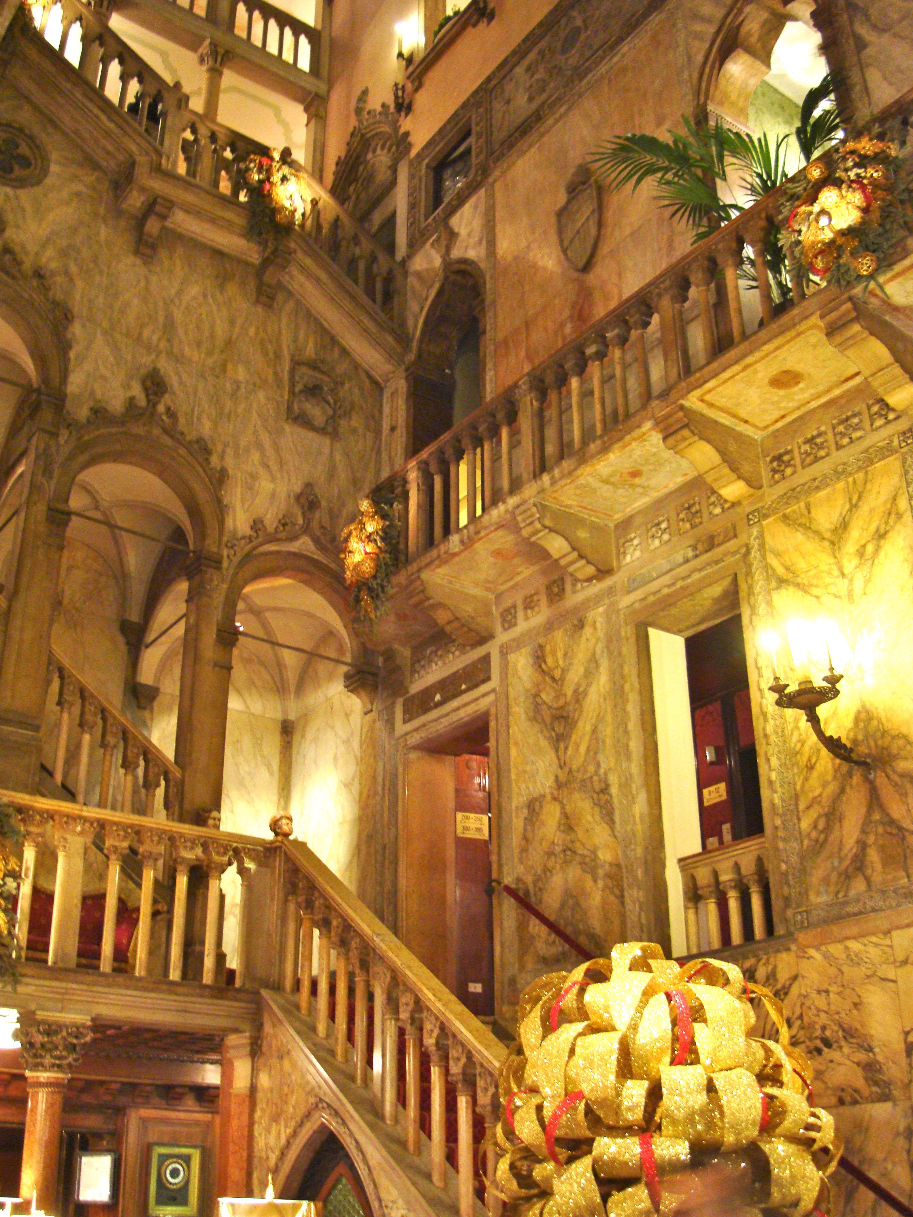 Inside the Hotel Danieli, Venice Italy (Venezia, Italia