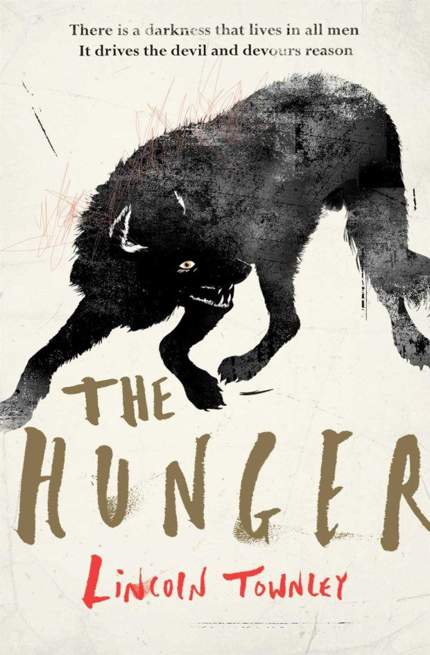 Hunger by Lincoln Townley; design by Matt Johnson (Simon & Schuster / May 2014)