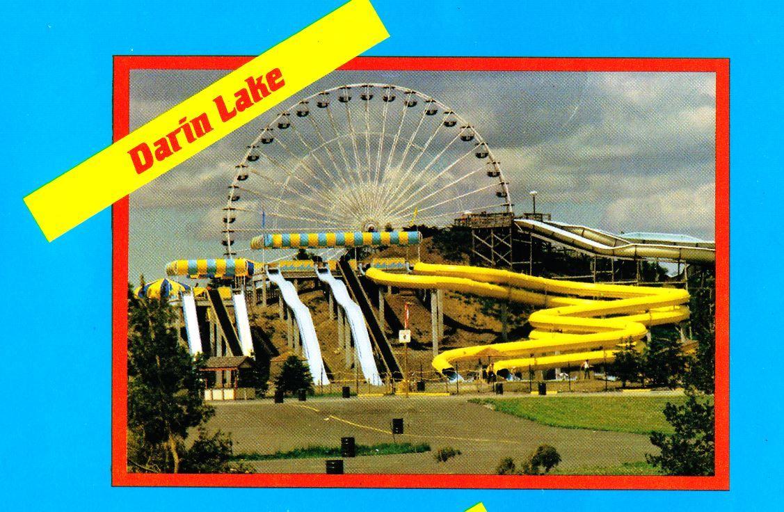 Darien Lake Water Slides Early 90s Barracudabay Darien Lake Lake Theme Park