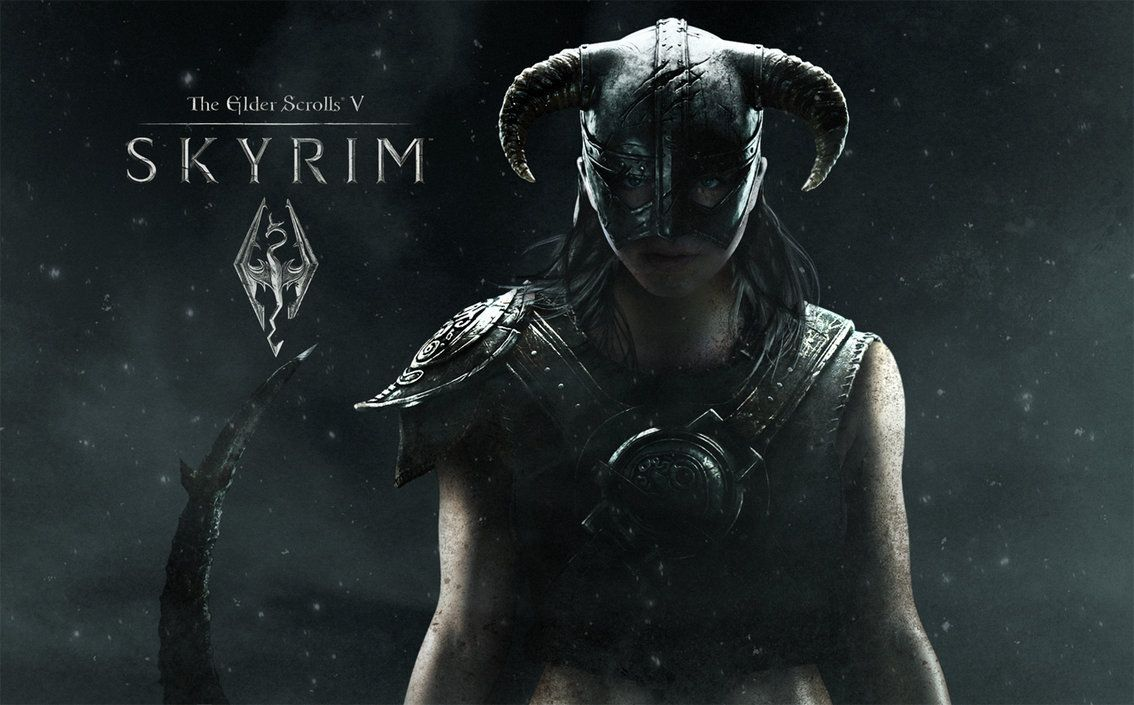 Female Dovahkiin Wallpaper Posted On Ign By Joannalund