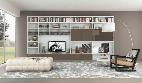 großer wohnzimmerschrank - Wie ein modernes Wohnzimmer aussieht - modernes wohnzimmer ideen