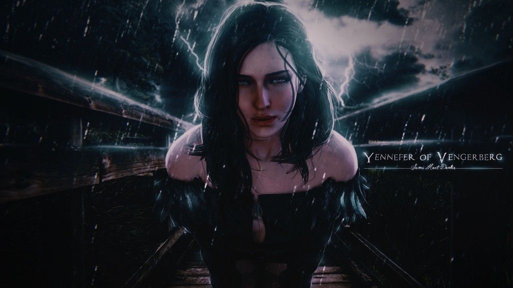 The Witcher 3 Wild Hunt Game Girl Art Wallpaper With Images
