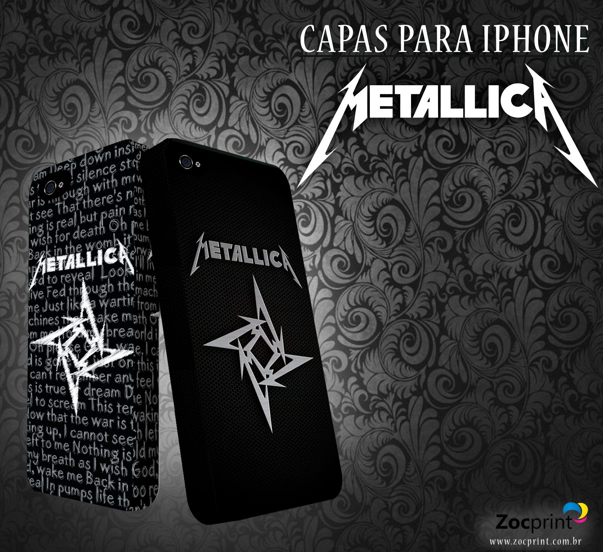 Capa de celular linha rock 5
