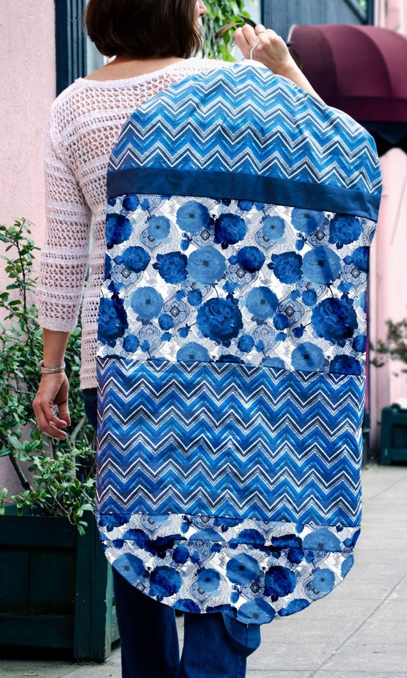DIY On-the-Go Garment Bag | FREE PATTERN! | SEWING | Pinterest ...