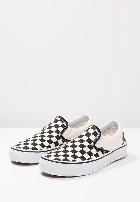 Vans CLASSIC - Slip-ons - black/white