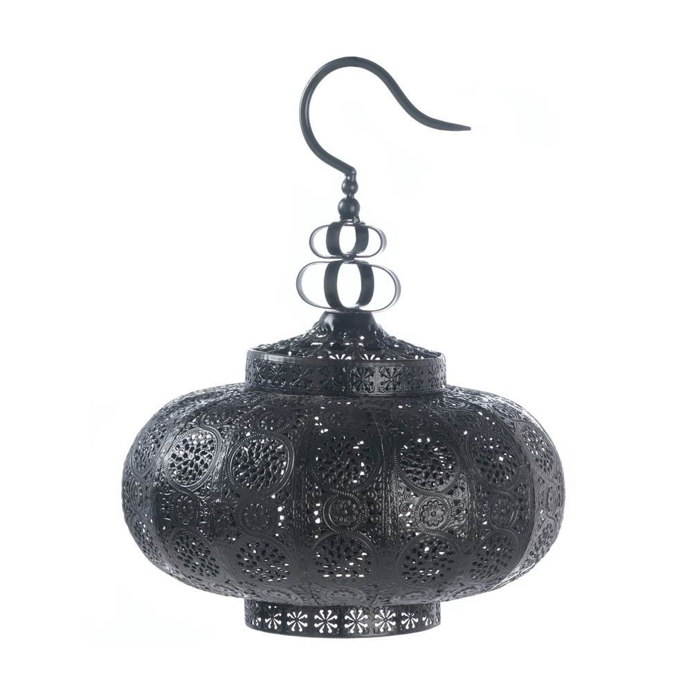 New Moroccan Style Hanging Candle Lamp Decorative Lanterns Outdoor Metal Decor  #GalleryofLight