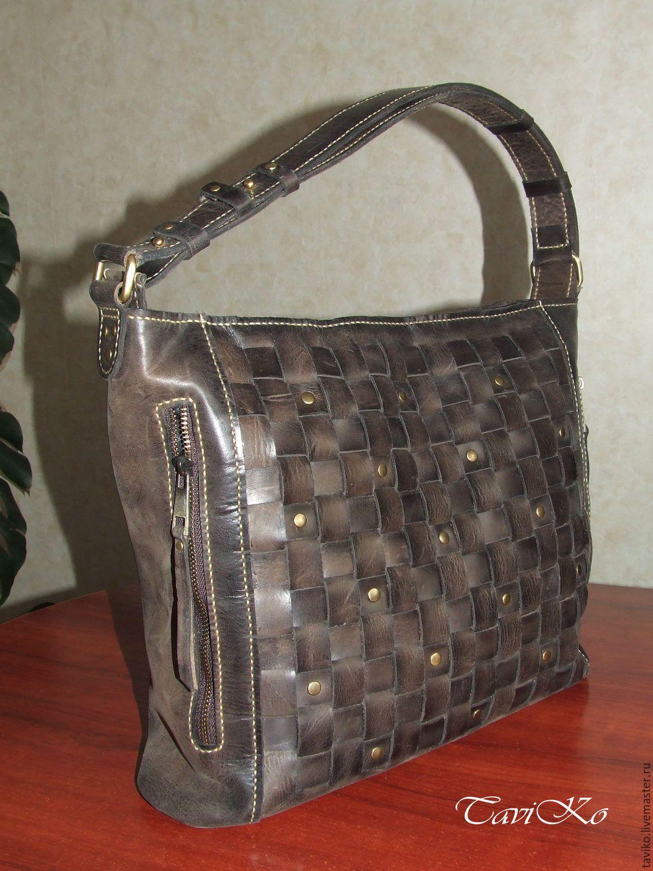 e9669b7dd1d8 Купить Сумка кожаная женская из кожи Крейзи Хорс - сумка ручной работы, сумка  женская