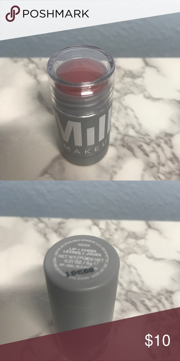 Milk Makeup Lip and Cheek Stick in Werk NWT Milk makeup